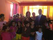 صور.. أعضاء الاتحاد المصريين بالخارج فى زيارة لأحد دور أطفال بلا مأوى
