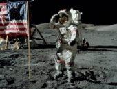 فى مثل هذا اليوم بالفضاء.. رواد أبولو 11 يخطون أولى خطواتهم على القمر