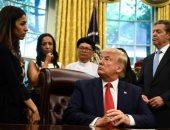 """ترامب لنادية مراد: """"حصلت على نوبل؟ شىء لا يصدق..لماذا قاموا بمنحها لك؟"""""""