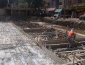 توصيل شبكة المياه لمنطقة الأميرية البلد وتطوير سوق داير الناحية بالزاوية الحمراء