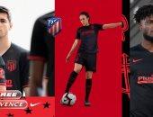 صور.. أتلتيكو مدريد يكشف عن القميص الثانى بالموسم الجديد