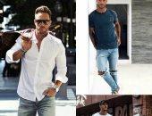 لو غاوى موضة.. أبرز تصميمات البنطلونات الريبد جينز الرجالى