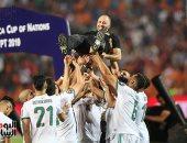 الجزائر تتسلم كأس أمم أفريقيا بحضور مدبولى ورئيس فيفا.. فيديو