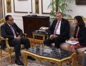 رئيس الوزراء يلتقى مديرة المكتب الإقليمى وممثل الأمم المتحدة للتنمية الصناعية
