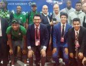 صور.. منتخب نيجيريا يغادر القاهرة بعد وداع بطولة الأمم الإفريقية