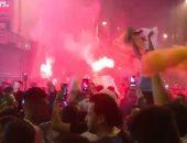 شاهد.. احتفالات جزائرية مجنونة فى باريس بعد التتويج بأمم أفريقيا