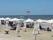 """صور.. تعرف على شاطئ بورسعيد """"قبلة المصطافين"""" على ضفاف البحر الأبيض المتوسط"""