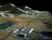 ناسا: سنبدأ فى حصاد الموارد الثمينة مثل البلاتين من القمر