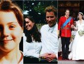 لقطات من حياة كيت ميدلتون قبل ما الزهر يلعب وتبقى أميرة.. صور