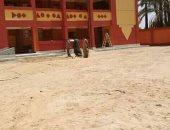 """انتهاء أعمال بناء """"مدرسة المعلات الإعدادية"""" لخدمة أهالى 6 عزب بإسنا بالأقصر"""