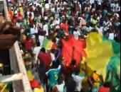 منتخب السنغال يتلقى استقبال الأبطال بعد عودته إلى داكار.. فيديو