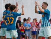أتلتيكو مدريد يهزم نومانسيا بثلاثية وديا.. فيديو