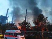 مصرع شخص وإصابة 11 آخرين فى انفجار بمصنع للصلب فى الهند