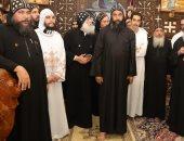 سكرتير محافظة سوهاج يشهد حفل تجليس الأنبا متاؤوس أسقفا لدير العذراء مريم بأخميم