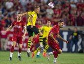 فى غياب محمد صلاح.. ليفربول يخسر وديا 3-2 أمام بوروسيا دورتموند