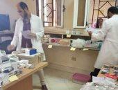 توقيع الكشف الطبى على 799 مواطن بالمجان فى سوهاج