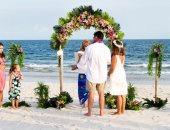 لفرح مختلف عالبحر.. أفكار لحفلات الزفاف على الشاطئ