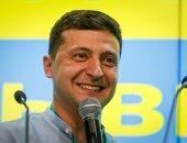 صور.. استطلاعات ترجح فوز حزب زيلينسكى بالانتخابات البرلمانية فى أوكرانيا