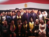 محافظ القاهرة يكرم 104 طالب أوائل الشهادة الإعدادية