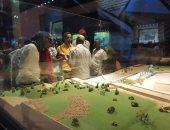 متحف النيل يستقبل وفد من طلاب هندسة عين شمس