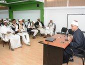صور.. أمين عام مجمع البحوث يلتقى أئمة ليبيا بمنظمة خريجى الأزهر