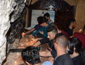 صور.. 28 طالبًا عربيا يُضيئون الشموع بدير درنكه آخر محطات رحلة العائلة المقدسة بأسيوط