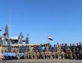 """انطلاق التدريب البحرى المصرى الأمريكى المشترك """"تحيه النسر - استجابه النسر2019"""""""