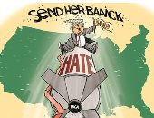 ترامب يطلق قذائف الكراهية استعداد للانتخابات.. كاريكاتير USA Today
