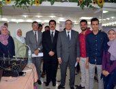 إطلاق أول مسابقة للمشروعات الطلابية بجامعة بنها