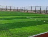 صور.. قريبا افتتاح ملعب خماسى لكرة القدم بمتحف النيل فى أسوان