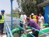 رئيس مياه سوهاج يستقبل عيد الفطر المبارك بتفقد محطات مياه الشرب