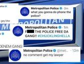 العثور على مخترق موقع وحسابات السوشيال ميديا للشرطة البريطانية