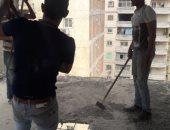حملة إزالة مكبرة لمجابهة مافيا مخالفات البناء شرق الإسكندرية