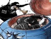 كاريكاتير الصحف السعودية.. إيران تحيى الحرب فى الشرق الأوسط