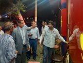 حملات مسائية لإزالة الإشغالات بالإسكندرية وإغلاق 3 مقاهى