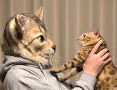هتلبس كلب ولا قطة.. ماسكات بشكل حيوانك الأليف والسعر أكتر من 2000 دولار