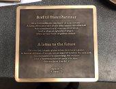 نصب تذكارى ورسالة مخيفة إلى المستقبل بعد ذوبان أول نهر جليدى فى أيسلندا
