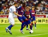 برشلونة يخسر ضد تشيلسى 2 / 1 فى أولى وديات الموسم الجديد.. فيديو