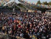 صور.. ديار بكر تشهد مظاهرات حاشدة للأكراد جنوب تركيا