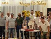 صور.. أحمد عز يحتفل بعيد ميلاده برفقه أصدقائه فى الساحل الشمالى