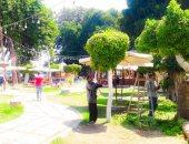 صور.. رفع كفاءة حديقة عروس النيل استعدادا لإستقبال عيد الأضحى بالمنصورة