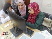 صور .. 500 طالب وطالبة سجلوا رغباتهم بجامعة كفر الشيخ