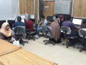 1000 طالب يسجلون رغباتهم بمكاتب التنسيق بجامعة بنها