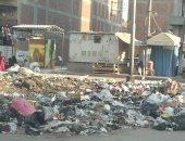 اضبط مخالفة.. انتشار القمامة بمنطقة نعمان الأعصر فى المحلة