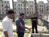 صور.. تطوير 3 حدائق عامة تمهيداً لإفتتاحها فى العيد القومى للإسكندرية