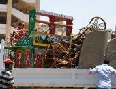إزالة 35 حالة إشغال بحى جنوب مدينة المنيا