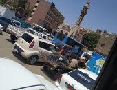 """الاختناقات المرورية بشارع أحمد عرابى بالمهندسين تزعج الأهالى """"صور"""""""