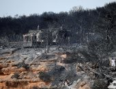 نجاح عمليات إطفاء حرائق الغابات خارج العاصمة آثينا باليونان