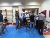 صور..2000 طالب بالثانوية العامة أدوا إختبارات القدرات بجامعة كفر الشيخ