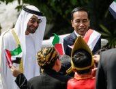 استقبال حافل لولى عهد أبو ظبى الشيخ محمد بن زايد فى إندونيسيا